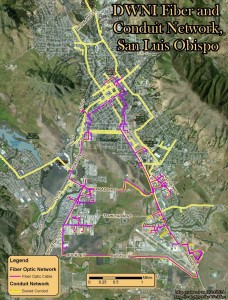 SLO Fiber and Conduit Network