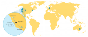 colocation centers across the globe