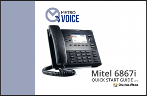 MetroVoice Quick Start Guide