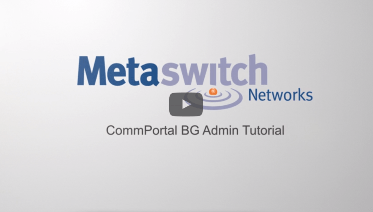 MetaSwitch Admin Tutorial